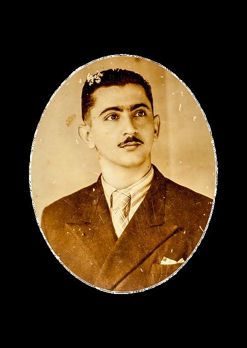 Retrato de Bianor jovem.