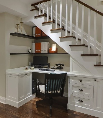 Custom Stairwell and nook