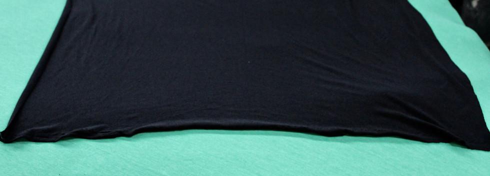 Black new knit wiper