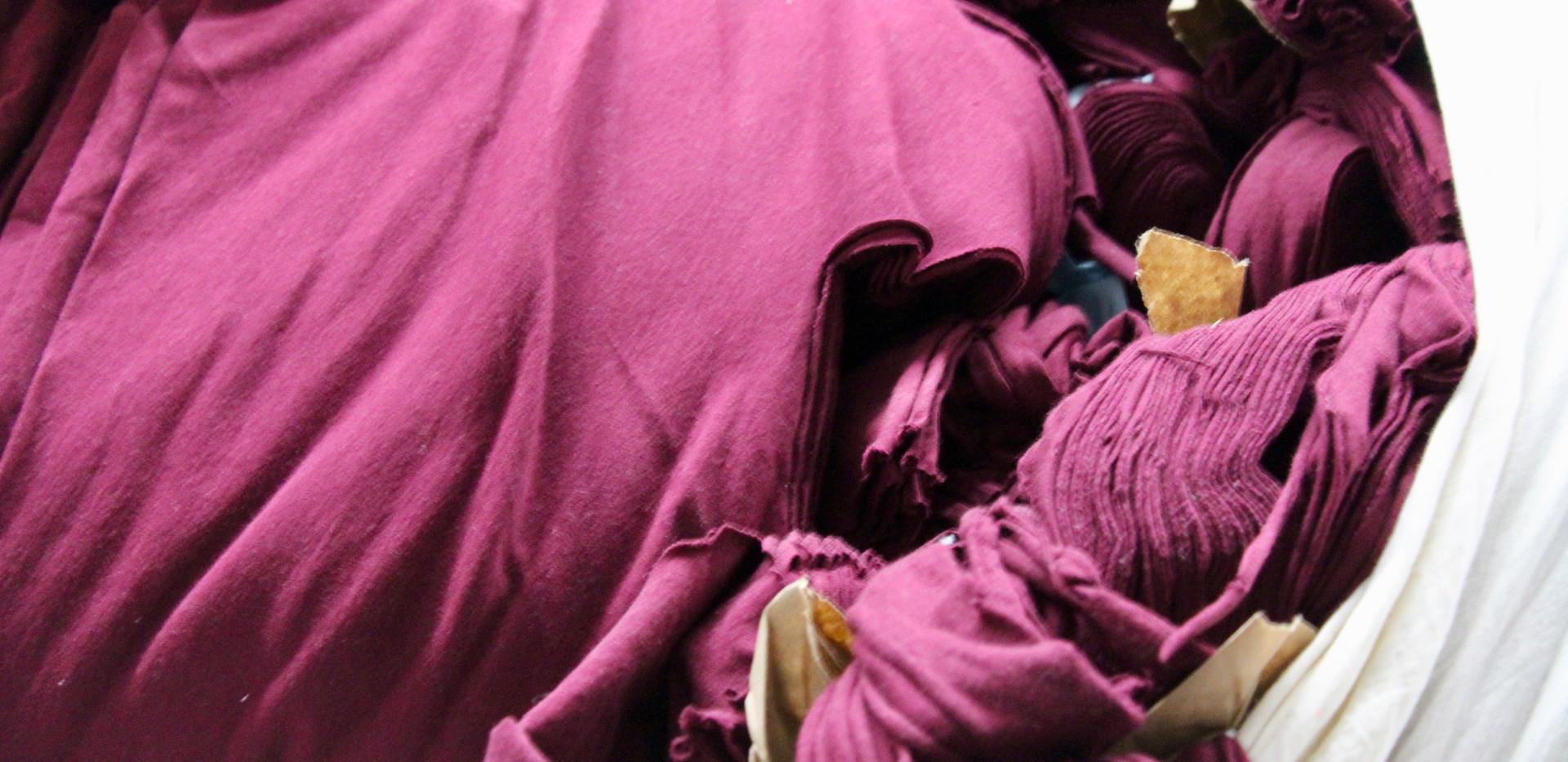 Purple Clips 100% Cotton