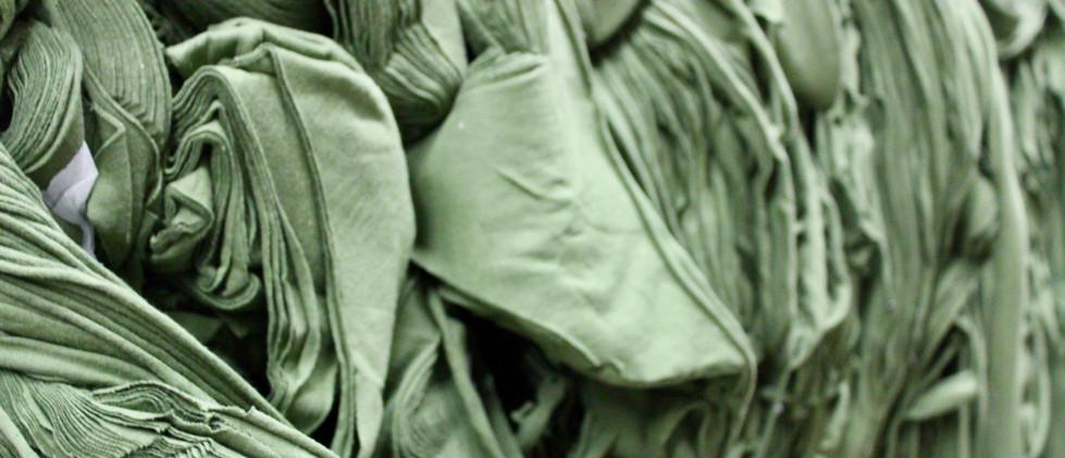 Green Clips, 100% Cotton