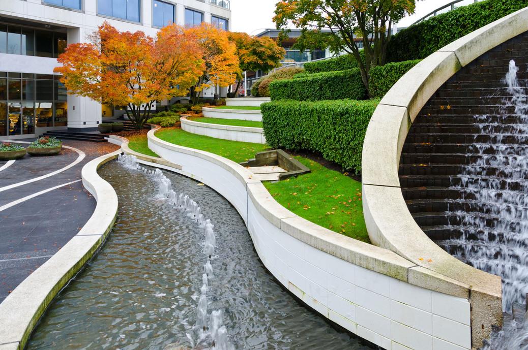 Fountain Entrance