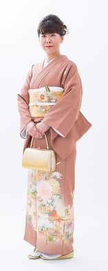 結婚式の色留袖、鹿児島レンタル着物