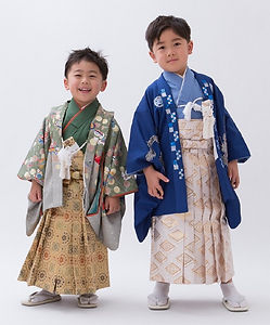 3.5歳男児の七五三着物、鹿児島