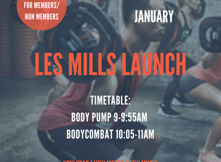 LES MILLS NEW YEAR RELEASE