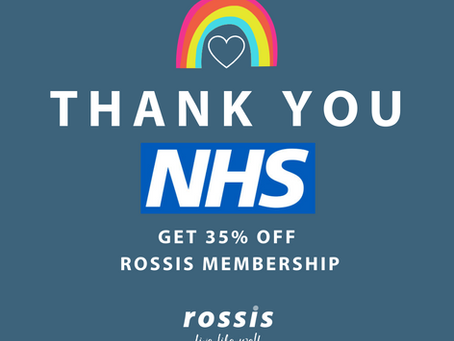 NHS THANK YOU - A GIFT FROM ROSSIS