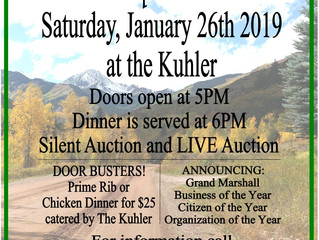 CHAMBER BANQUET JANUARY 26, 2019