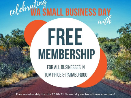 Celebrating Small Business Day with FREE membership to PICCI