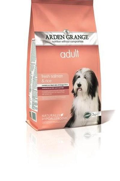 Arden Grange volwassen hond met zalm en rijst