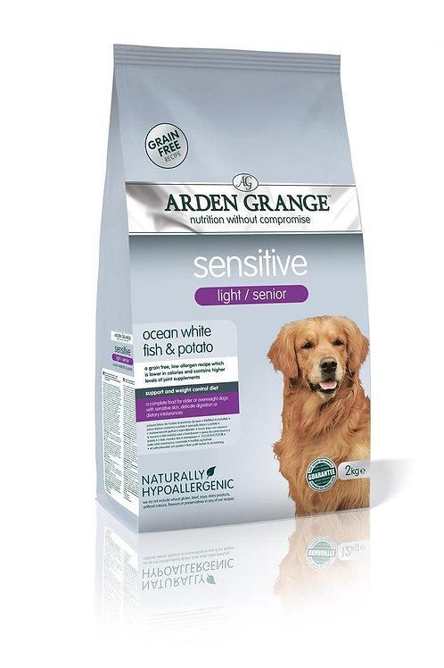 Arden Grange dog Light/Senior Sensitive white fish & potato