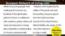 European Network of Living Labs - Geneva 2018