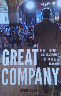 Author Mike Smith talks about his new book 'Great Company' and the shifting paradigm in the