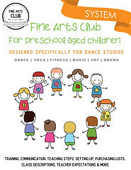 PreSchool Fine Arts Club Introduction CP