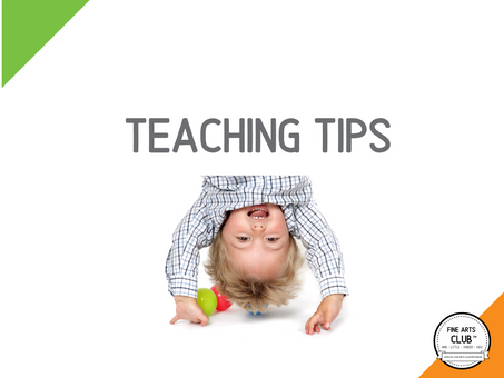 January Teaching Tips