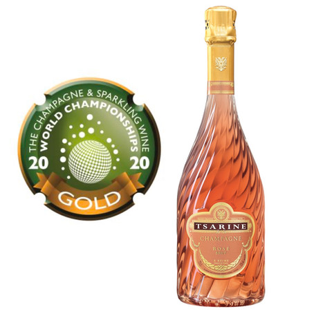 Another Gold Medal for Tsarine Rosé at CSWWC 2020!