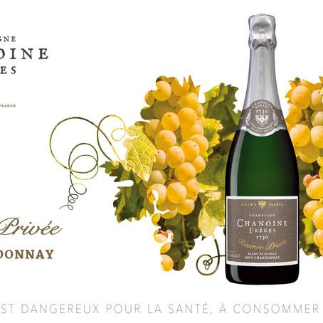 """Chanoine Frères Réserve Privée lance son """"100% Chardonnay"""""""