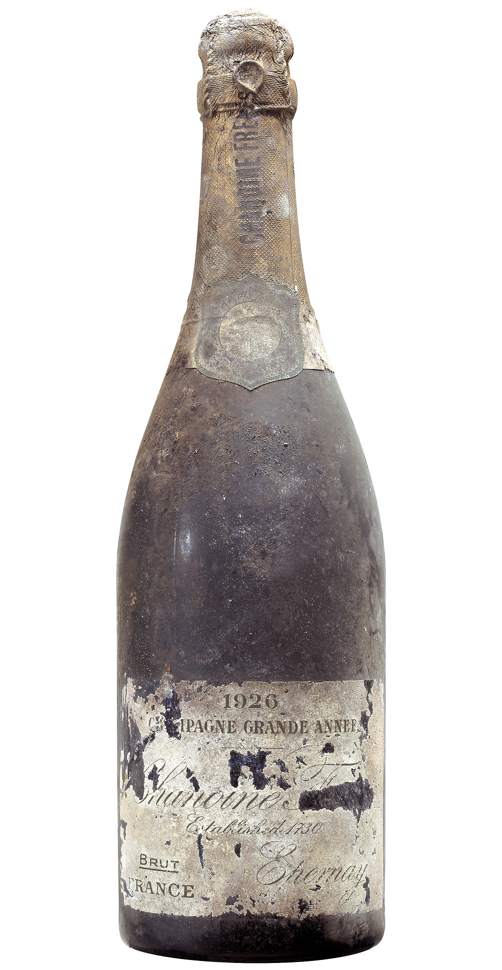 Chanoine Frères 1926 vintage brut bottle