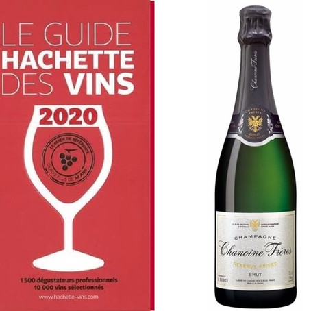 Chanoine Frères Réserve Privée Is Awarded a Star in the Hachette Wine Guide