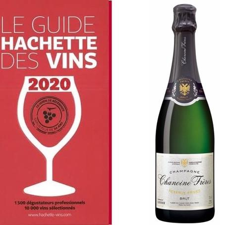 Chanoine Frères Réserve Privée obtient une étoile au Guide Hachette des vins