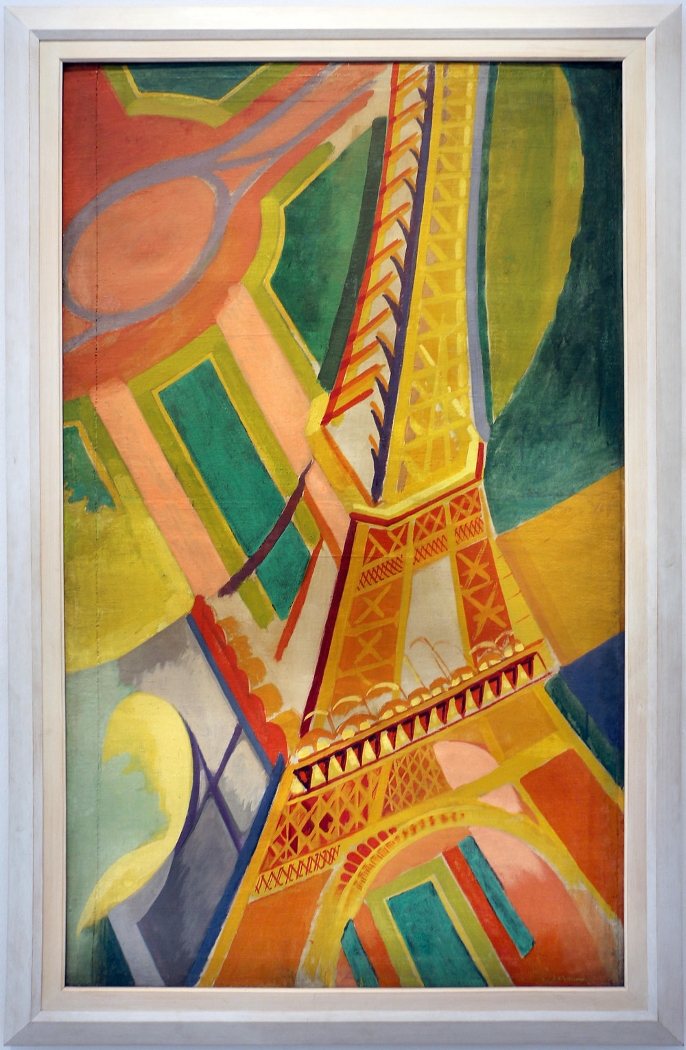 The Eiffel Tower — painting by Robert Delaunay, 1926