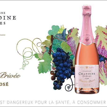Chanoine Frères Réserve Privée Brut Rosé, un champagne rosé de caractère pour l'été