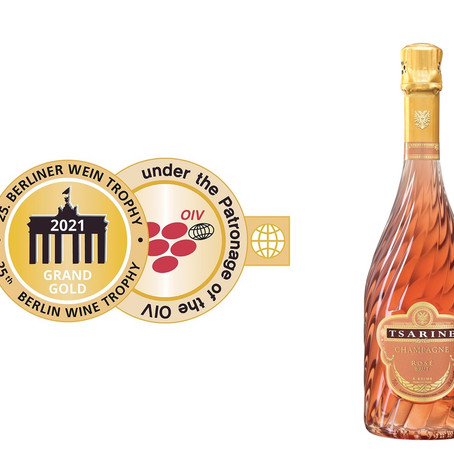 Tsarine Wins Gold at the Berlin Wine Trophy 2021