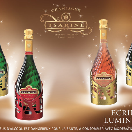 Tsarine Lights Up the Holidays with Champagne Lights!