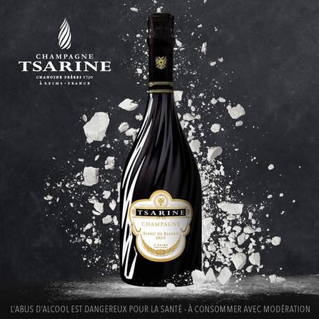 """White is… Black!"", Tsarine lance sa cuvée Blanc de Blancs"