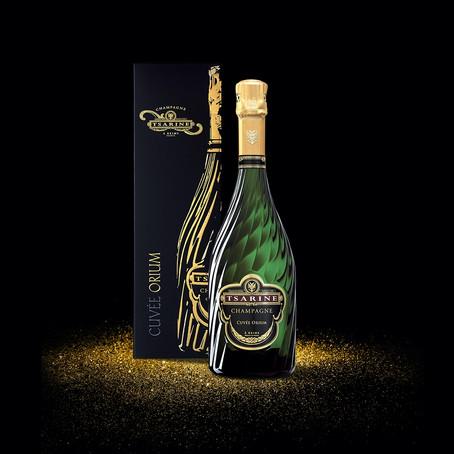 Tsarine Orium, le champagne extra-brut des fêtes 2020