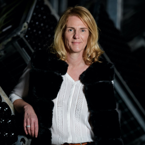Poratriat of Isabelle Tellier, Head Wine-Maker of the champagne House of Chanoine Frères