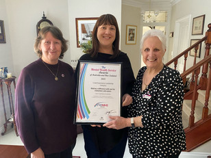 LEA wins Lived Experience Leadership Award