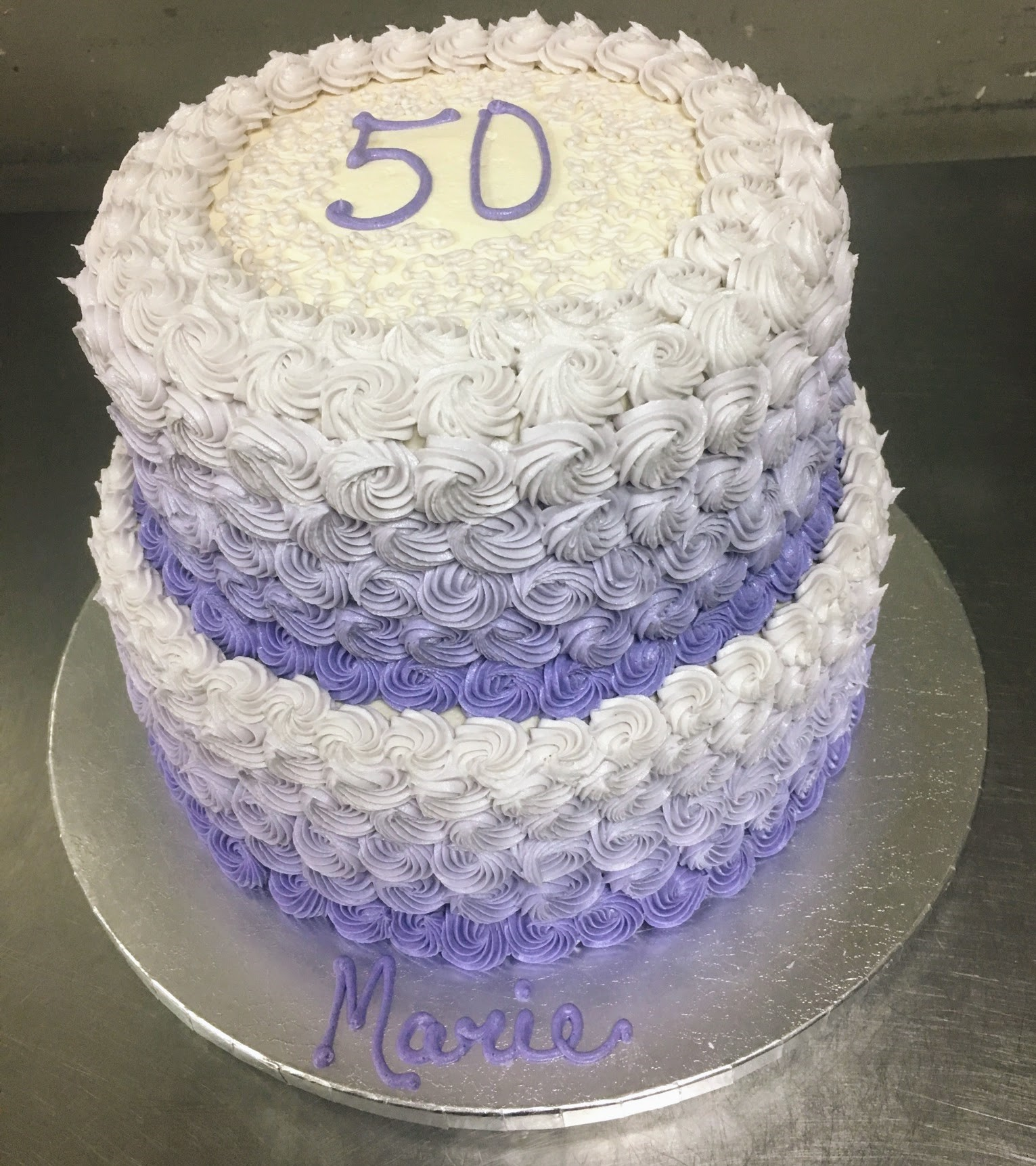 50 tier purple bday
