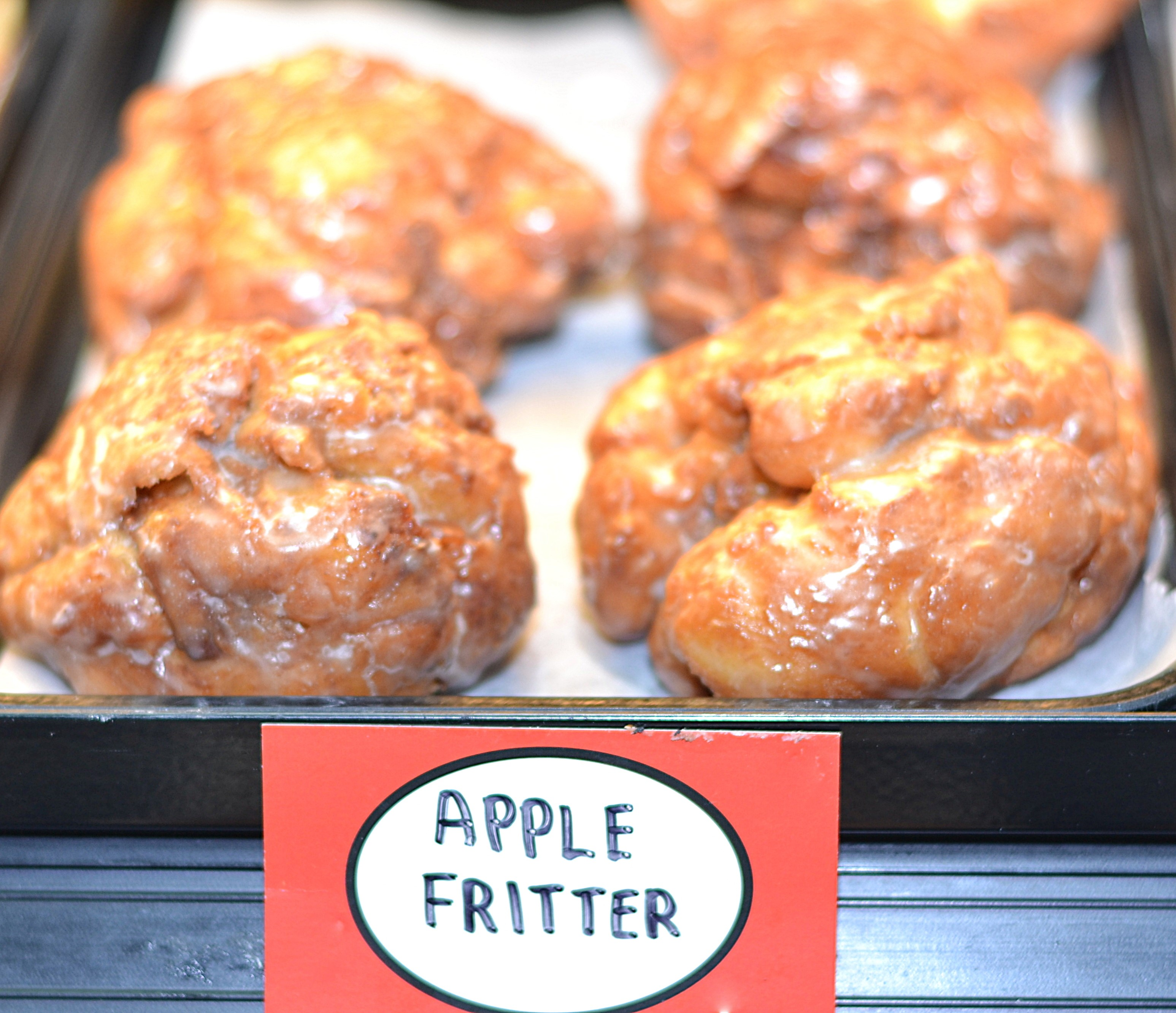 Our Famous Apple Fritters!