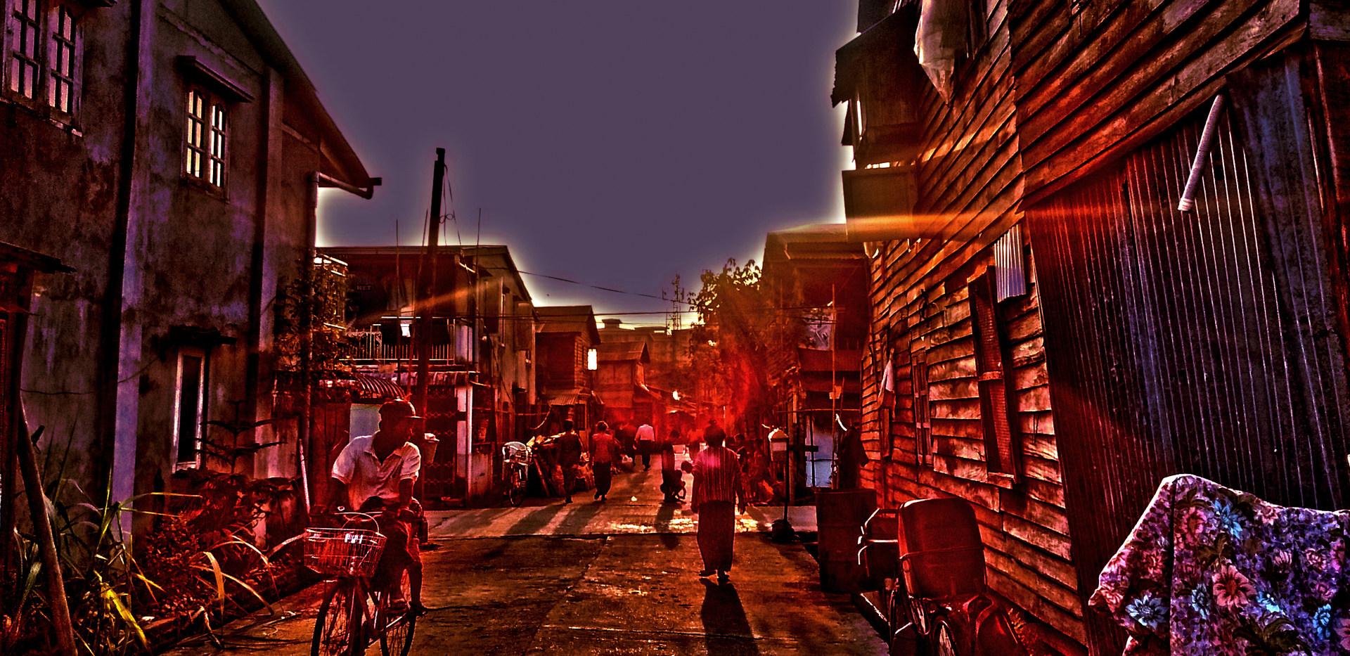 21- Un soir à Kanbe (Myanmar)