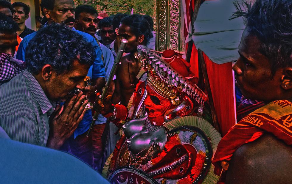 15 - Acteur de Theyyam (Kasaragod)