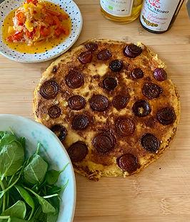 Caramelized Farinata