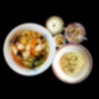 海鮮五目スープ麺