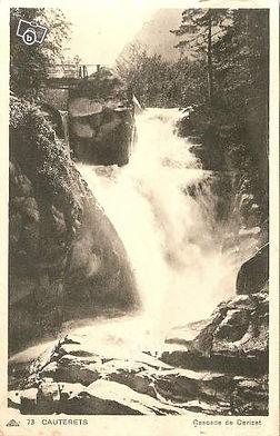 Carte postale ancienne de cauterets casc
