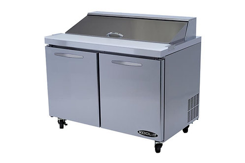 "Kool-It KST-48-2 48"" Sandwich/Salad Prep Table"