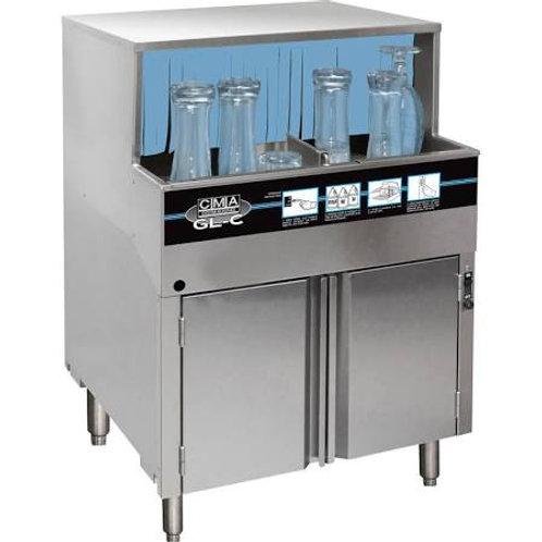 CMA GL-C Low Temp Rotary Undercounter Dishwasher