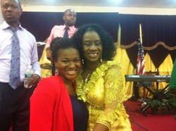 With Mama Hope Davies