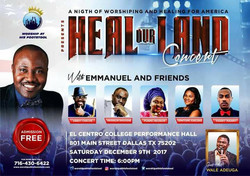 Heal our Land Concert