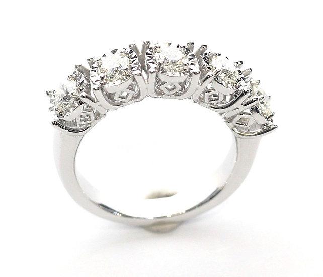 Phoenixjewerly Five stone diamonds ring