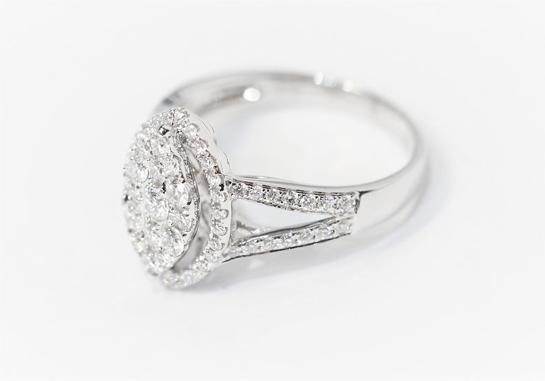 ​Marquise- shaped diamonds ring