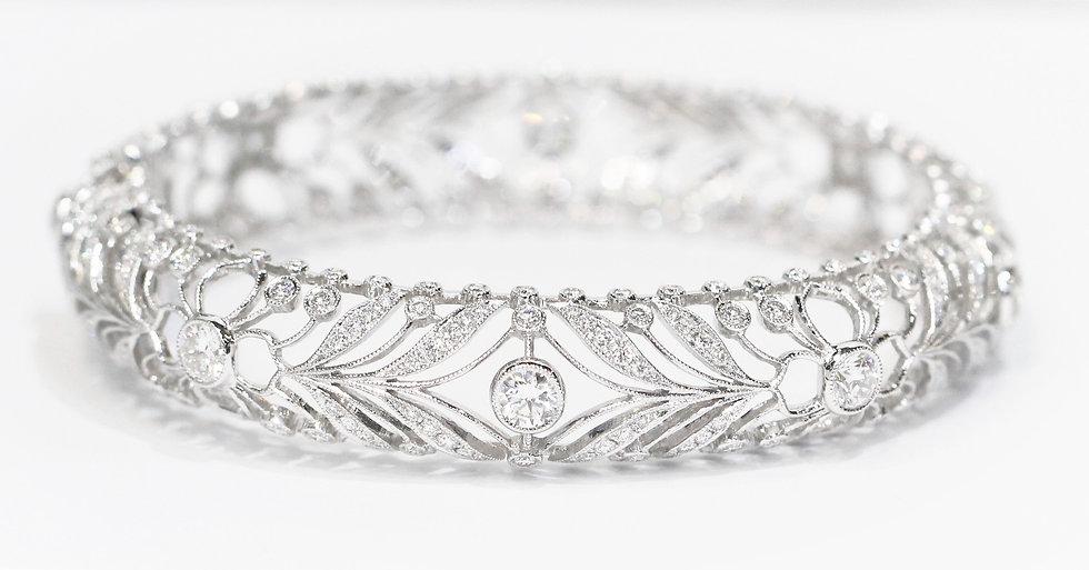 Diamonds bangle