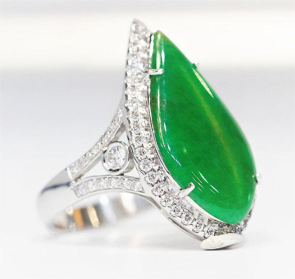 IGL  Jade Phoenixjewelry  ring