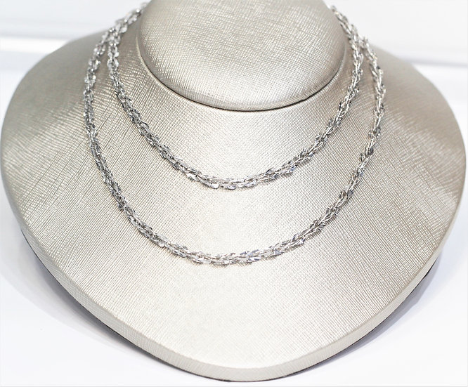 White gold necklace 26