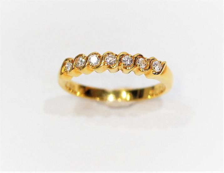 phoenixjewelry  Wedding diamonds yellow ring