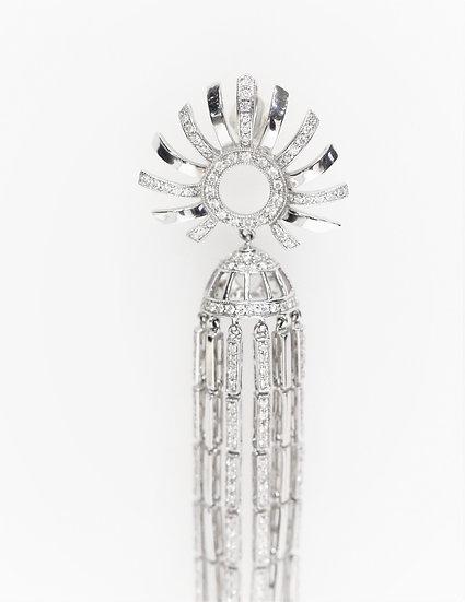 Sun shaped phoenixjewelry pendant