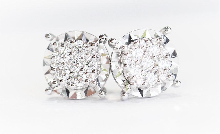 square diamonds phoenixjewelry  earrings